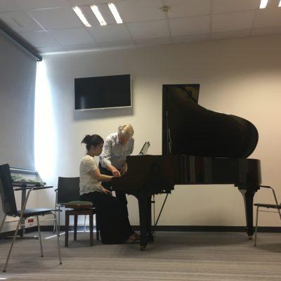 Masterclass with Prof. Klaus Hellwig in Tignes 2018