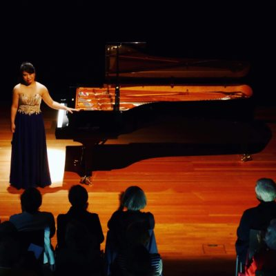 Solo Recital in Krefeld, Germany (c) A. Yamamoto