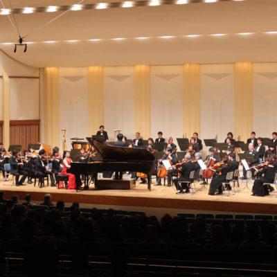 Akashi in February 2020 大阪交響楽団 名曲コンサート ラフマニノフピアノ協奏曲第3番 (c) 大阪交響楽団