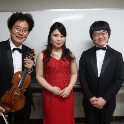 大阪交響楽団正指揮者・太田弦氏、首席コンサートマスター・森下幸路氏と