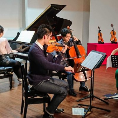 Piano Quartet in Tokyo January 2019
