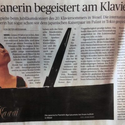 Kritik - Rheinische Post (Germany)