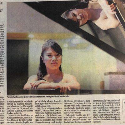 Kritik - Westdeutsche Zeitung (Germany) 28th August 2018