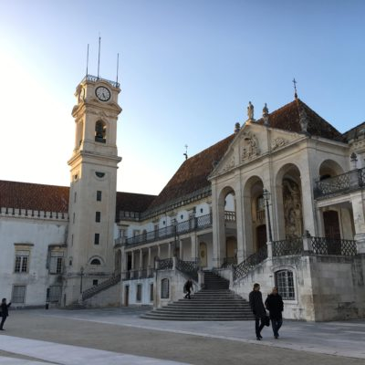 Coimbra University in Coimbra, Portugal 2019