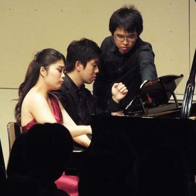 Piano Duo with Yoshito Kitabata, in Sendai 2018