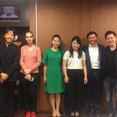 Rising Pianists Concert @ YAMAHA Hall, Tokyo 2018