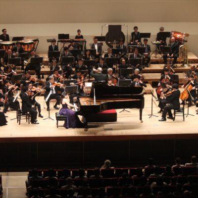 蜜蜂と遠雷 vol.2「ピアニストと国際音楽コンクール」 Rachmaninoff Piano Concerto no.3 with Sendai Philharmonic Orchestra, March 2019. Maestro : Orie Suzuki, Concertmaster : Yukihiro Nishimoto (c) 仙台フィルハーモニー管弦楽団