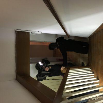 Berlin - TV取材 (NHKドキュメンタリー・蜜蜂と遠雷 -若きピアニストたちの18日間-)