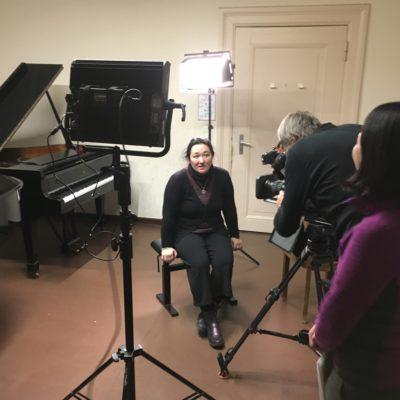@ UdK Berlin - TV取材 (NHKドキュメンタリー・蜜蜂と遠雷 -若きピアニストたちの18日間-)