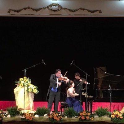 Joint recital with Mr. Yoshiaki Shibata in Catania, Italy 2018