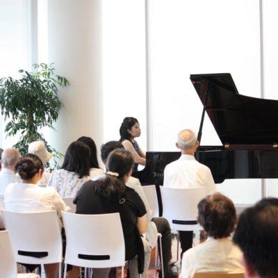 Loby concert at Hakuju Hall, Tokyo 2017