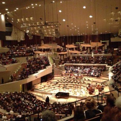 Berlin Philharmonie Saal