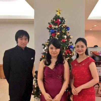 Joint Recital with Mai Suzuki (Violine) and Tomoki Sakata (Piano) at Opera city Recital hall (Tokyo) 2016.