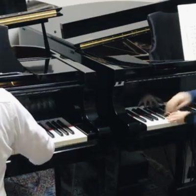 2 Pianos with Takuya Tainaka!