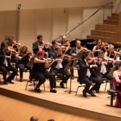 Rachmaninoff Piano Concerto with Valencia Orchestra conducted by Maestro  Bruno Aprea (2017)